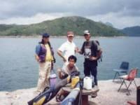難民營對出釣點